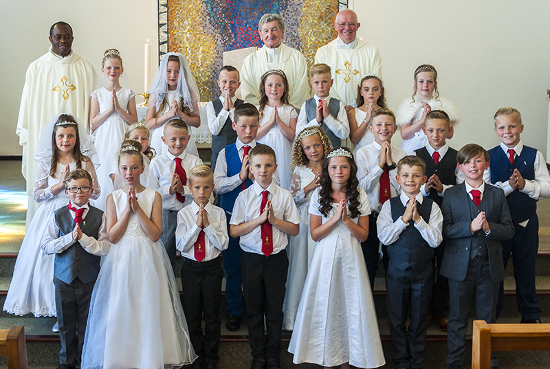 The First Holy Communion Group of 2017