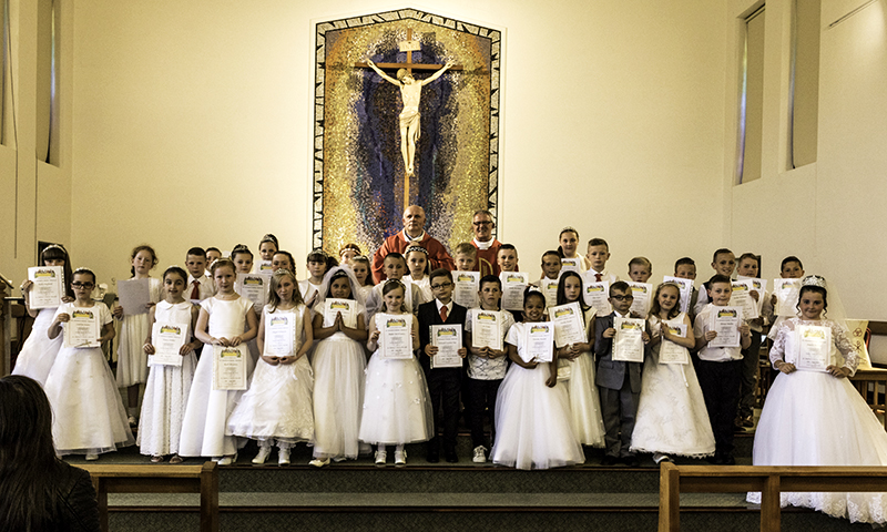 First Holy Communion Going Forth Mass