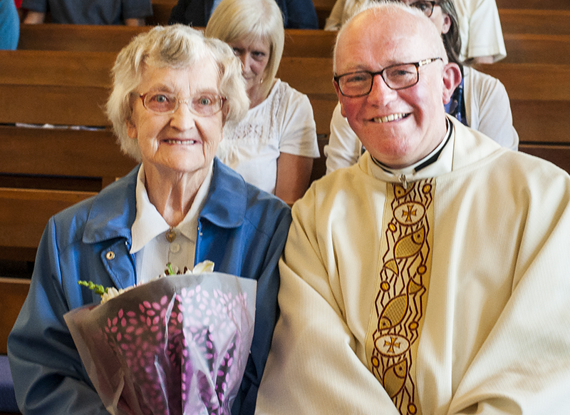 Mary McPhillips celebrated her 90th birthday on Tuesday, May 8th