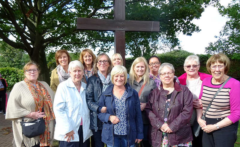St. Andrew's Parishioners on the Diocesan Pilgrimage to Walsingham