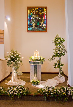 The Baptism display