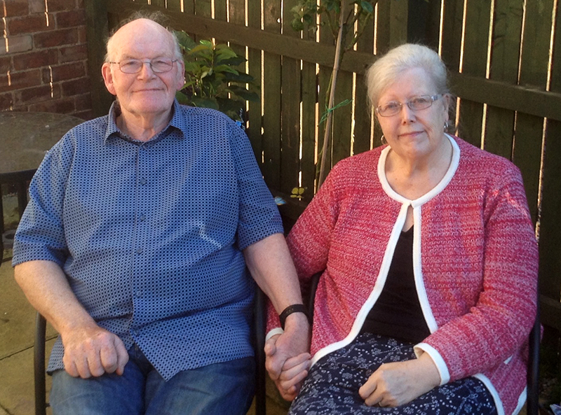 Brian and Marian Walsh celebrated the Golden Anniversary